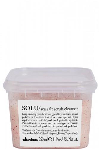 Davines SOLU salt scrub cleanser 250ml